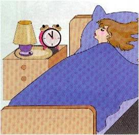 dormitorio sin contaminación