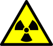señal radiactividad