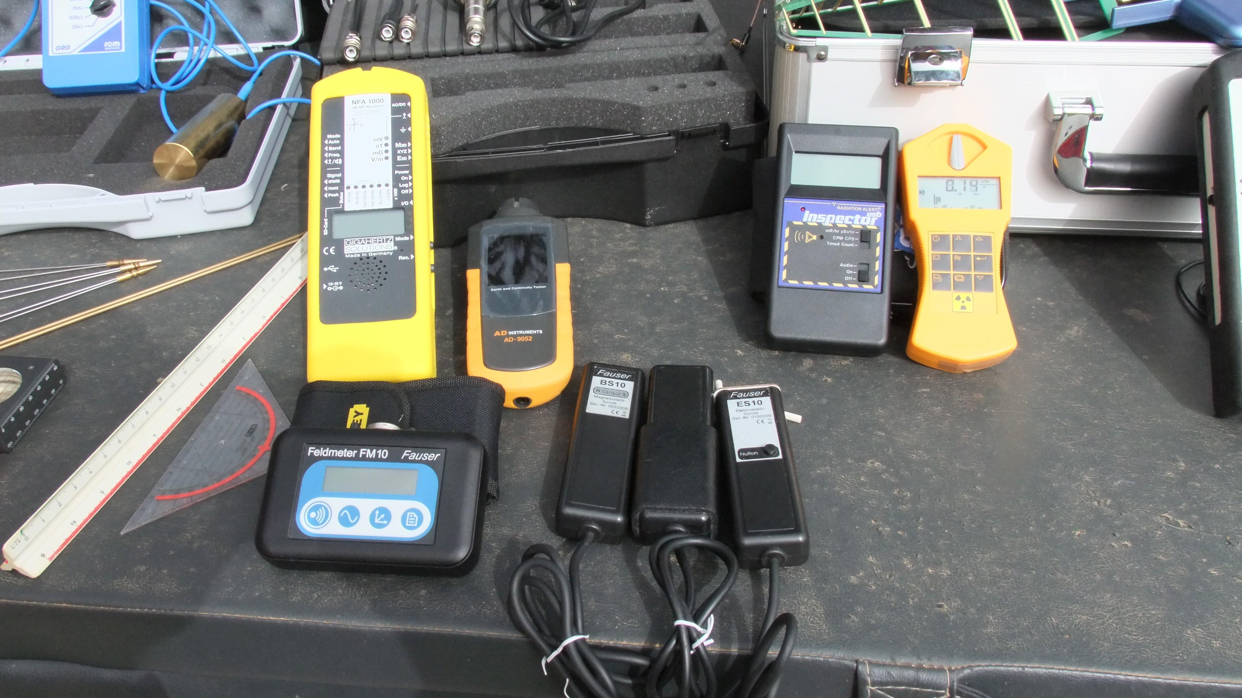 Equipo de medición de baja frecuencia